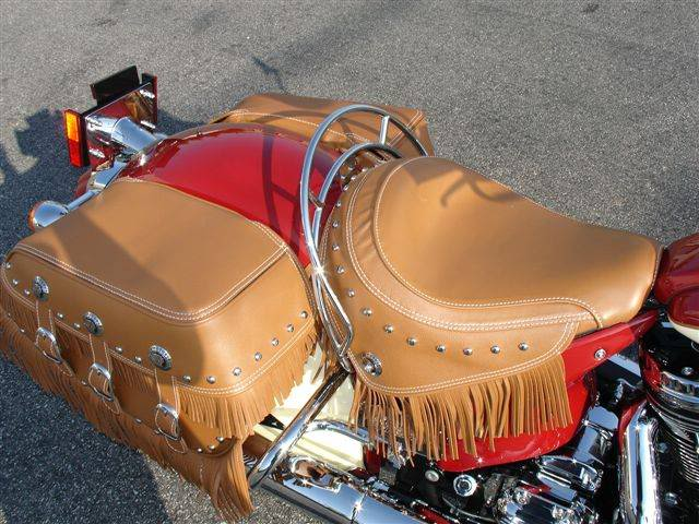 2009 Indian Chief Vintage Model (red and cream) ChiefVintage90i