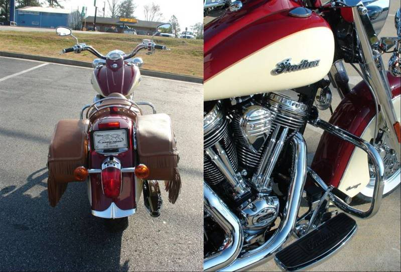 2009 Indian Chief Vintage Model (red and cream) ChiefVintage90j
