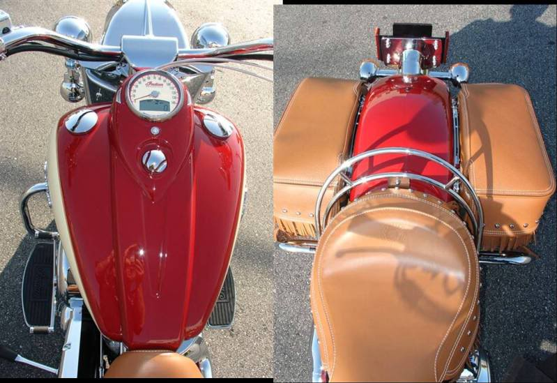 2009 Indian Chief Vintage Model (red and cream) ChiefVintage90k