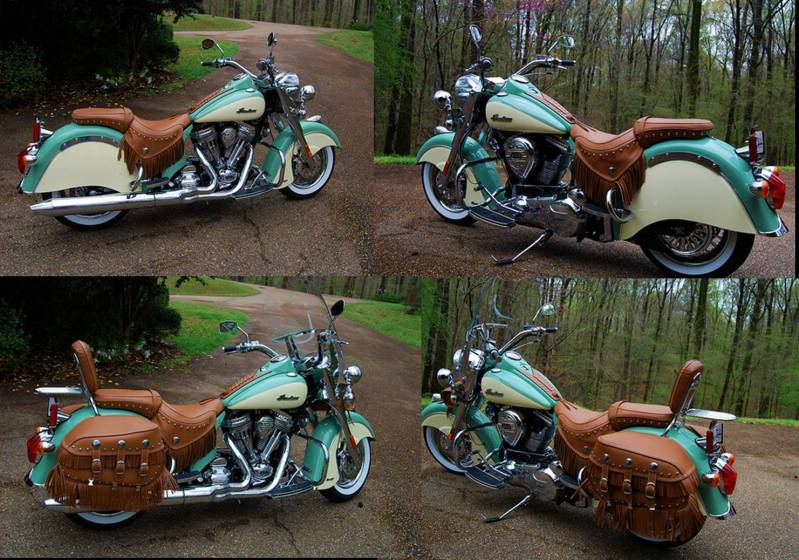 2009 Chief Vintage Willow Green & Ivory Cream 2009ChiefVintage75willowgreenand-3