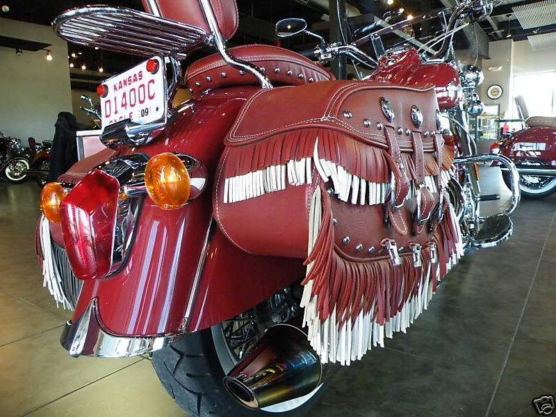 Indian Chief Vintage Model (red) ChiefVintage40i