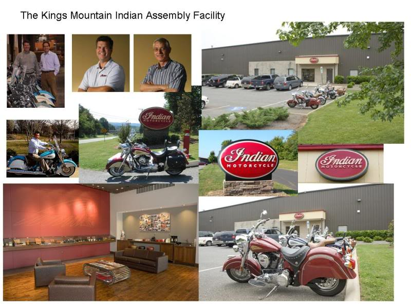Some photos of the Kings Mountain Indian Assembly Facility TheIndianMotorcycleFactory1