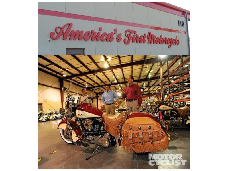 Some photos of the Kings Mountain Indian Assembly Facility TheIndianMotorcycleFactory2