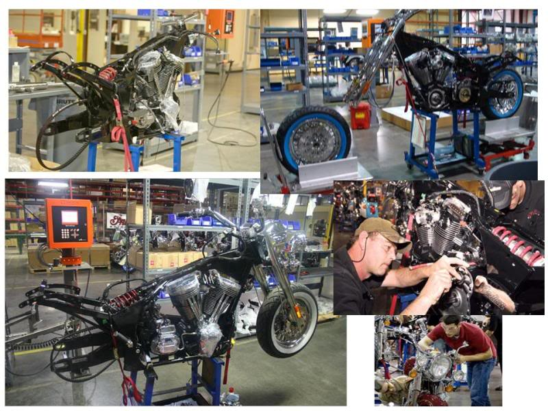 Some photos of the Kings Mountain Indian Assembly Facility TheIndianMotorcycleFactory4