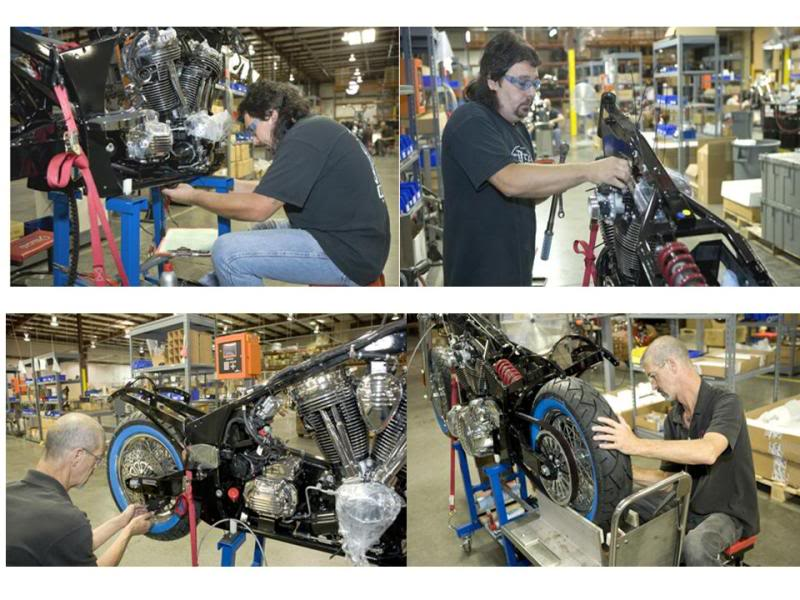 Some photos of the Kings Mountain Indian Assembly Facility TheIndianMotorcycleFactory7