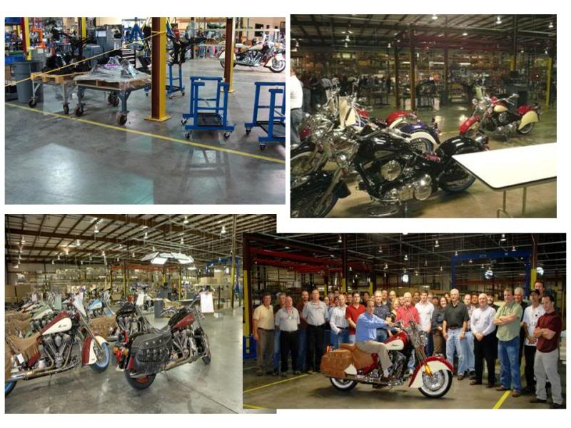Some photos of the Kings Mountain Indian Assembly Facility TheIndianMotorcycleFactory8