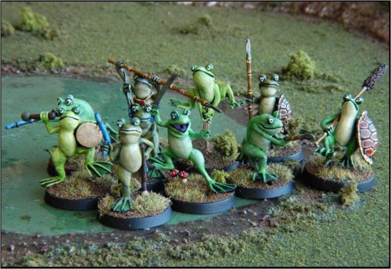 Frösche Frogs