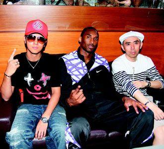(28/07/2009) Show Luo asiste a una fiesta con Kobe Bryant, hace enfadar a los usuarios de internet de nuevo. Show