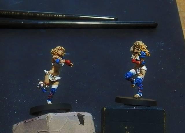 Amazonas Dallas Cowboys, otro equipo de Blood Bowl (willi miniatures) P7020046