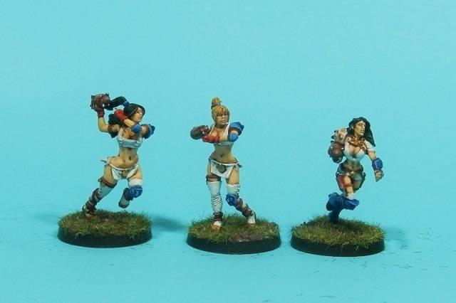 Amazonas Dallas Cowboys, otro equipo de Blood Bowl (willi miniatures) P7190005web