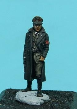 Oficiales alemanes (pequeño diorama con figuras (28mm) de Rafa Ramis) P6220037web