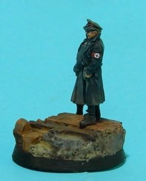 Oficiales alemanes (pequeño diorama con figuras (28mm) de Rafa Ramis) P6220041web