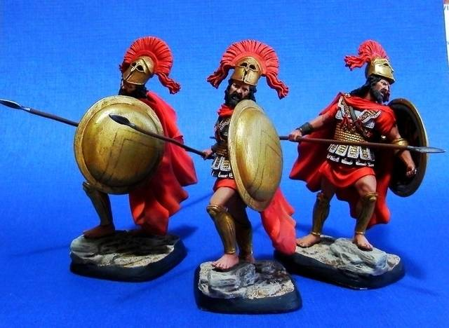 Leonidas I  King of Sparta 489-480 AC P4090014