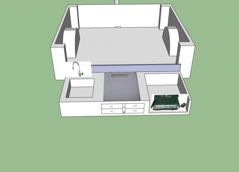 Dinoot Prototype CamperKitchen