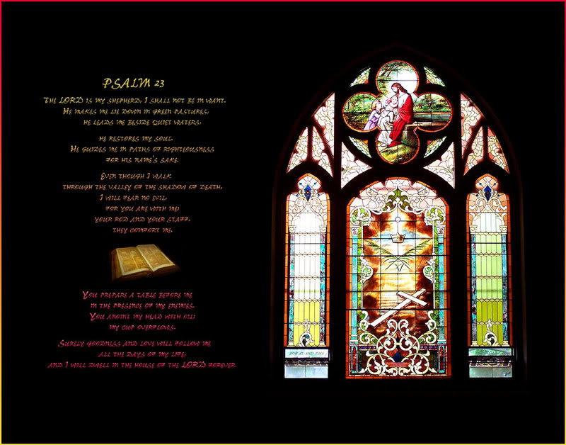The Lord Is My Shepherd ( Illustrated) Psalm-23
