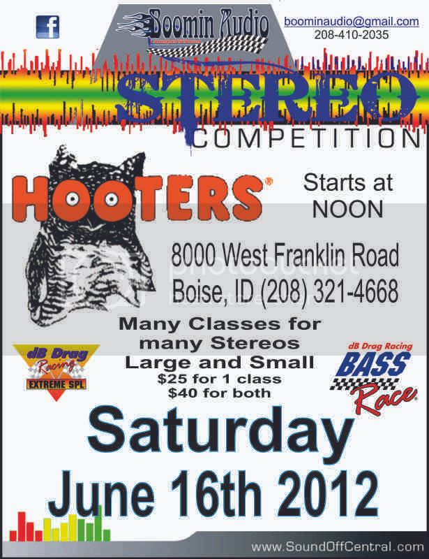 Boise dB Drag @ Hooters 6/16/12 Hooters