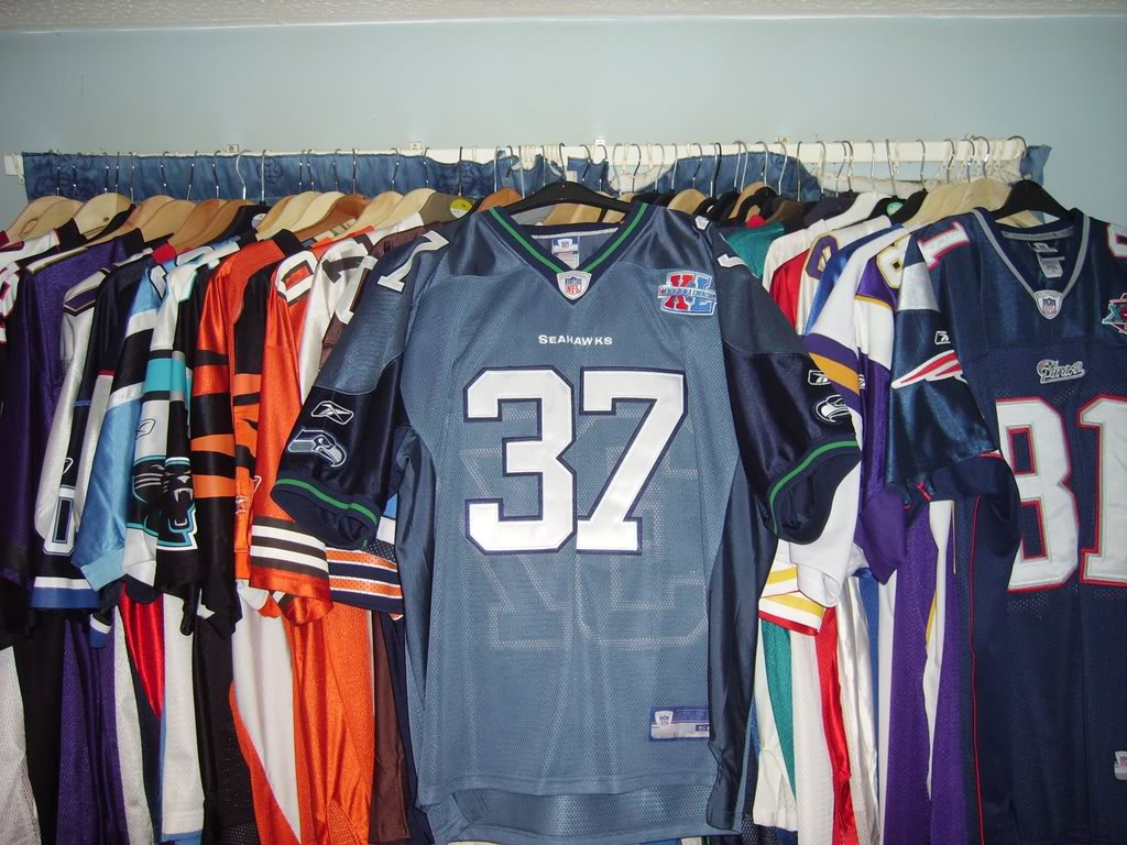 My Super Bowl Jersey Collection AlexanderSBXL