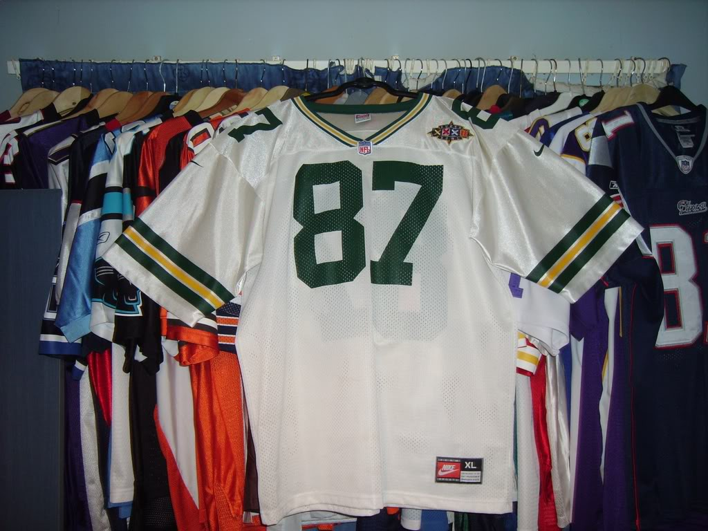 My Super Bowl Jersey Collection BrooksSBXXXII