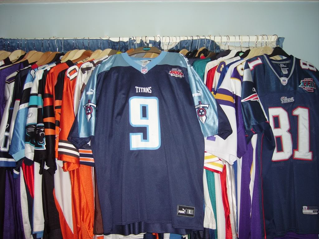 My Super Bowl Jersey Collection McNairSBXXXIV