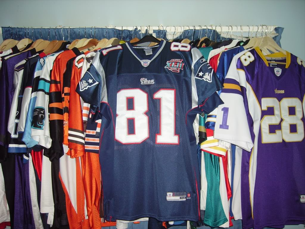 My Super Bowl Jersey Collection MossSBXLII