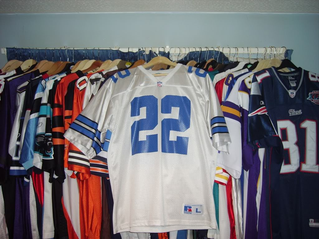 My Super Bowl Jersey Collection SmithSBXXVII