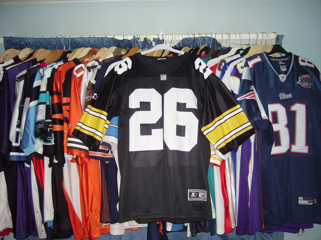 My Super Bowl Jersey Collection WoodsonSBXXX