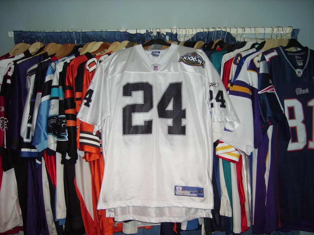 My Super Bowl Jersey Collection WoodsonSBXXXVII