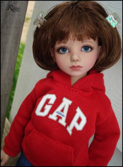 My new girl, Planetdoll Mini Riz, who is now named Roze! GAP2