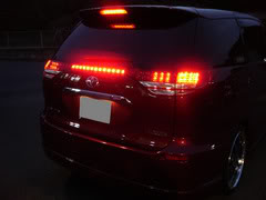 LED taillamp for cars and van.. Estima504thbrakelamp