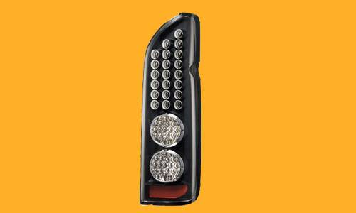 LED taillamp for cars and van.. Kdh200fullledtaillampbk