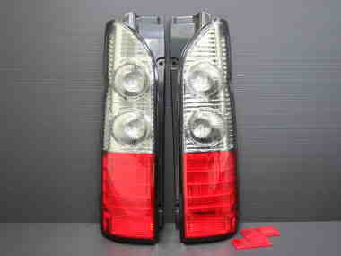 LED taillamp for cars and van.. Kdh200ledtaillamprednclear
