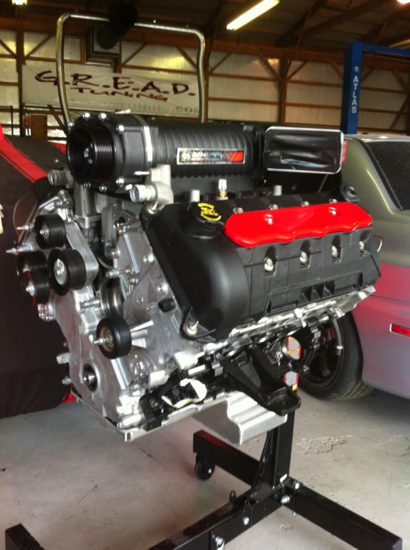 Hemi Twin Turbo Outlaw 10.5 Shelby build F1d72847