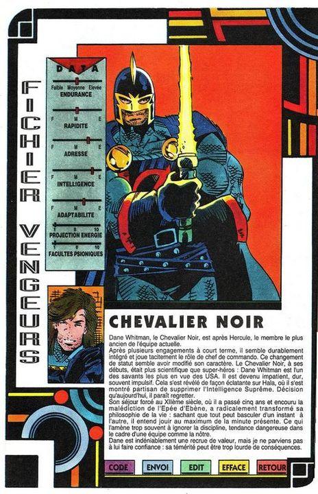 LE CHEVALIER NOIR ( Dreadknight ) 1-2