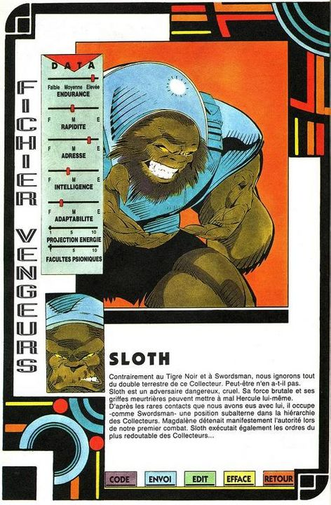 Sloth 5-1
