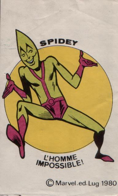 L' Homme Impossible ( The Impossible Man ) ComicsCouverture230