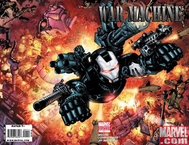 War Machine WarMachine_01_SecondPrintingVariant