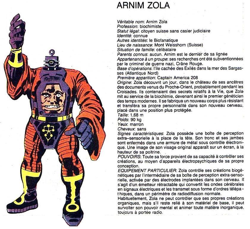 Arnim Zola Arzimzola