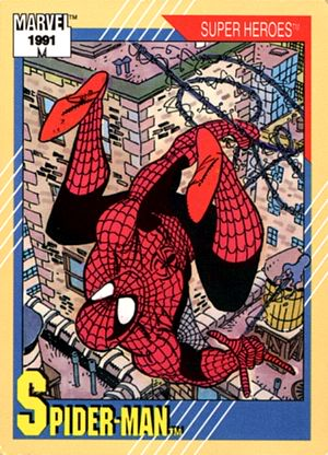 PETER PARKER / SPIDERMAN Cardfront