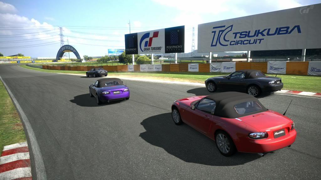 02  Tsukuba - Mazda Roadster TsukubaCircuit_1-2