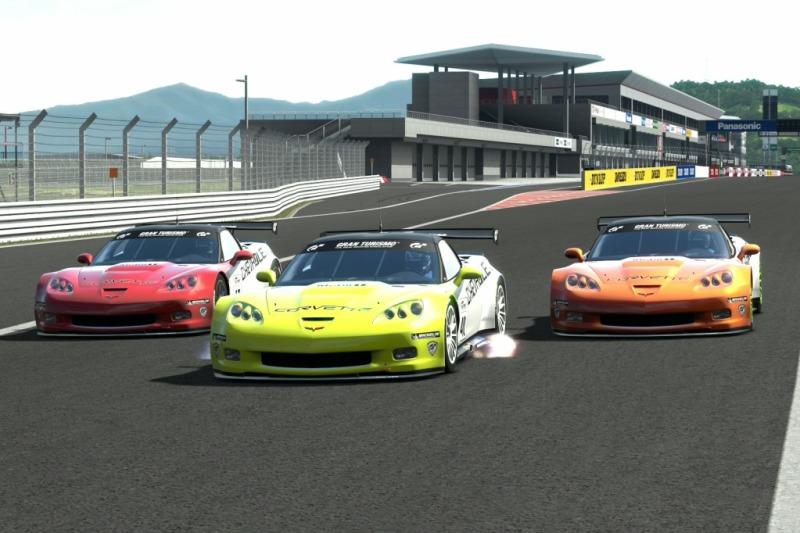 1ª Carrera de Muscle Cars Americanos en el Campeonato de Verano 2012 de GT5 Foto1-4