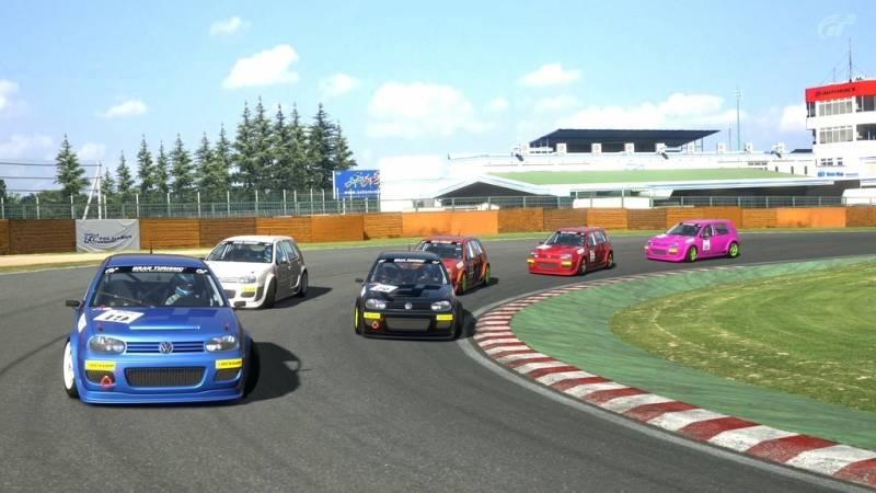 3ª y Última carrera de Compactos Europeos en el circuito de Tsukuba Maka3