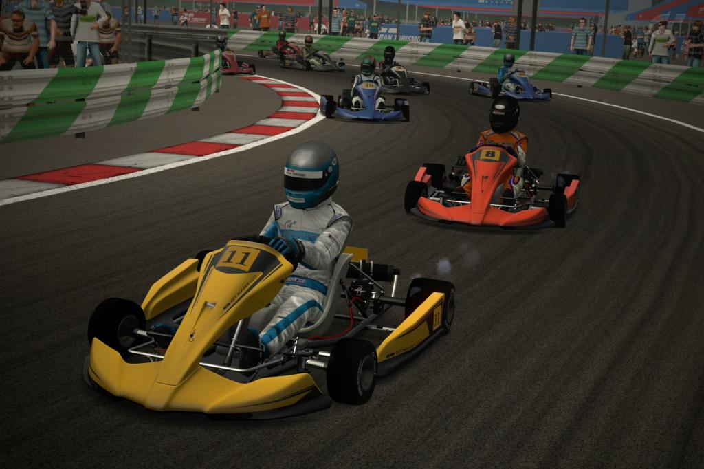 Neniko_18 (GT1) y Nacho2112 (GT2) primeros ganadores de la temporada en GT5  Manggart1