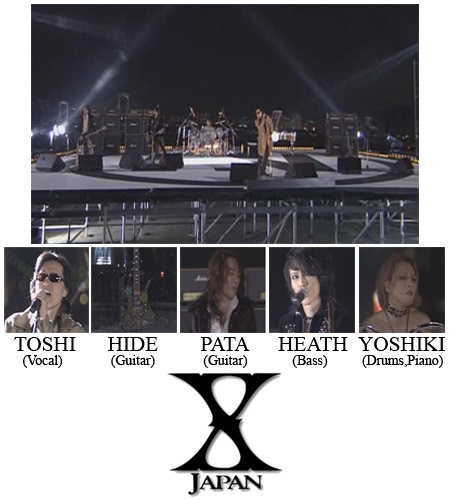 Legendary Band - X JAPAN X-JAPANIV