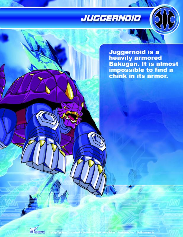 Bakugan Video Game 2009 BKN_JuggernoidHQ_1