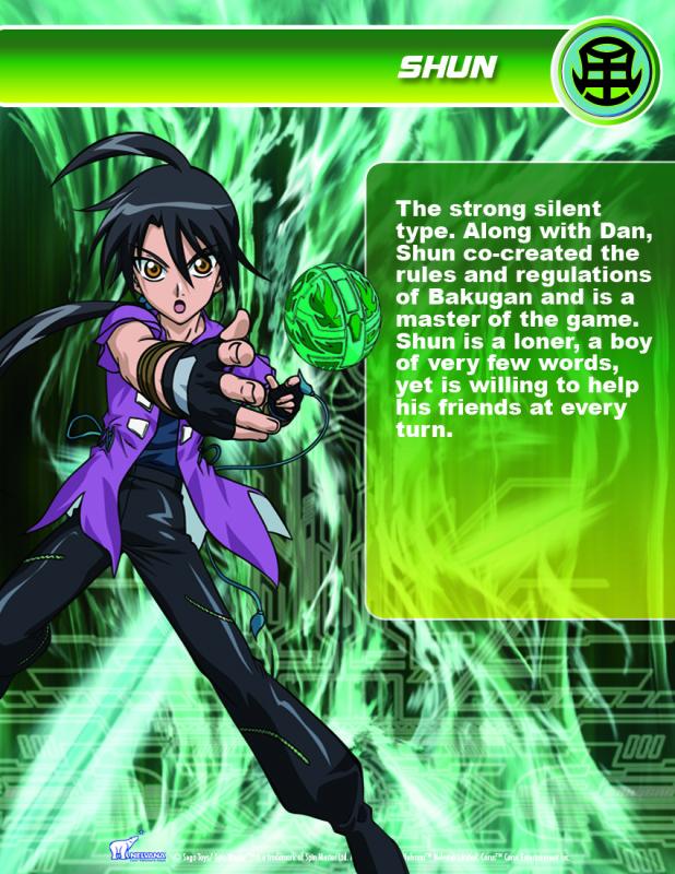 Bakugan Video Game 2009 BKN_Shun1