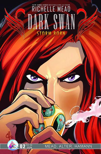 Adaptation en comics de Cycne Noir de Richelle Mead APR111135