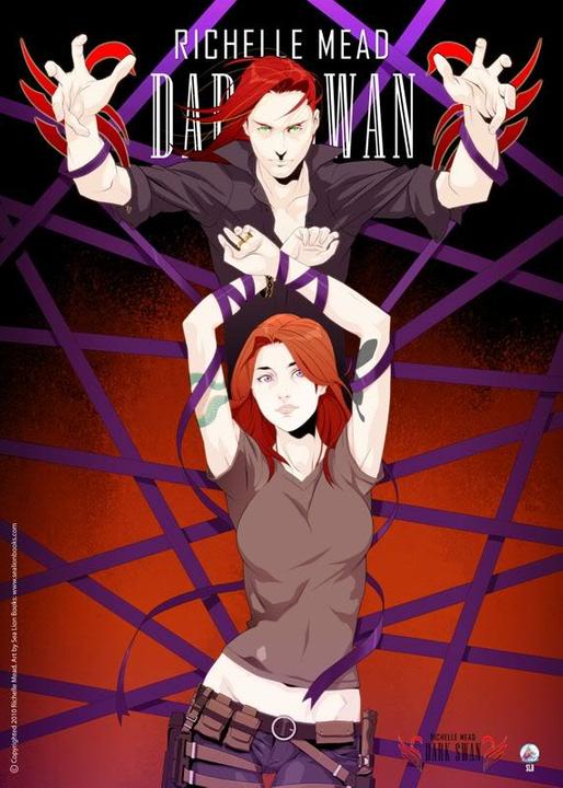 Adaptation en comics de Cycne Noir de Richelle Mead DarkSwanPosterlg