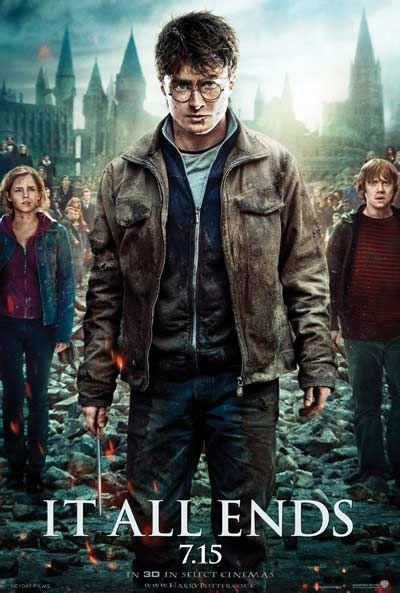 Harry Potter et les Reliques de la Mort - Page 9 Harry-Potter-Artistic-Poster