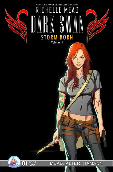 Adaptation en comics de Cycne Noir de Richelle Mead RichelleMead01regularcover