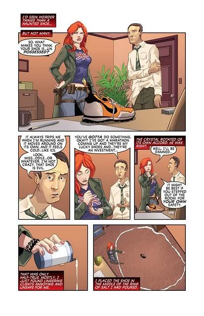 Adaptation en comics de Cycne Noir de Richelle Mead StormBorn1page1